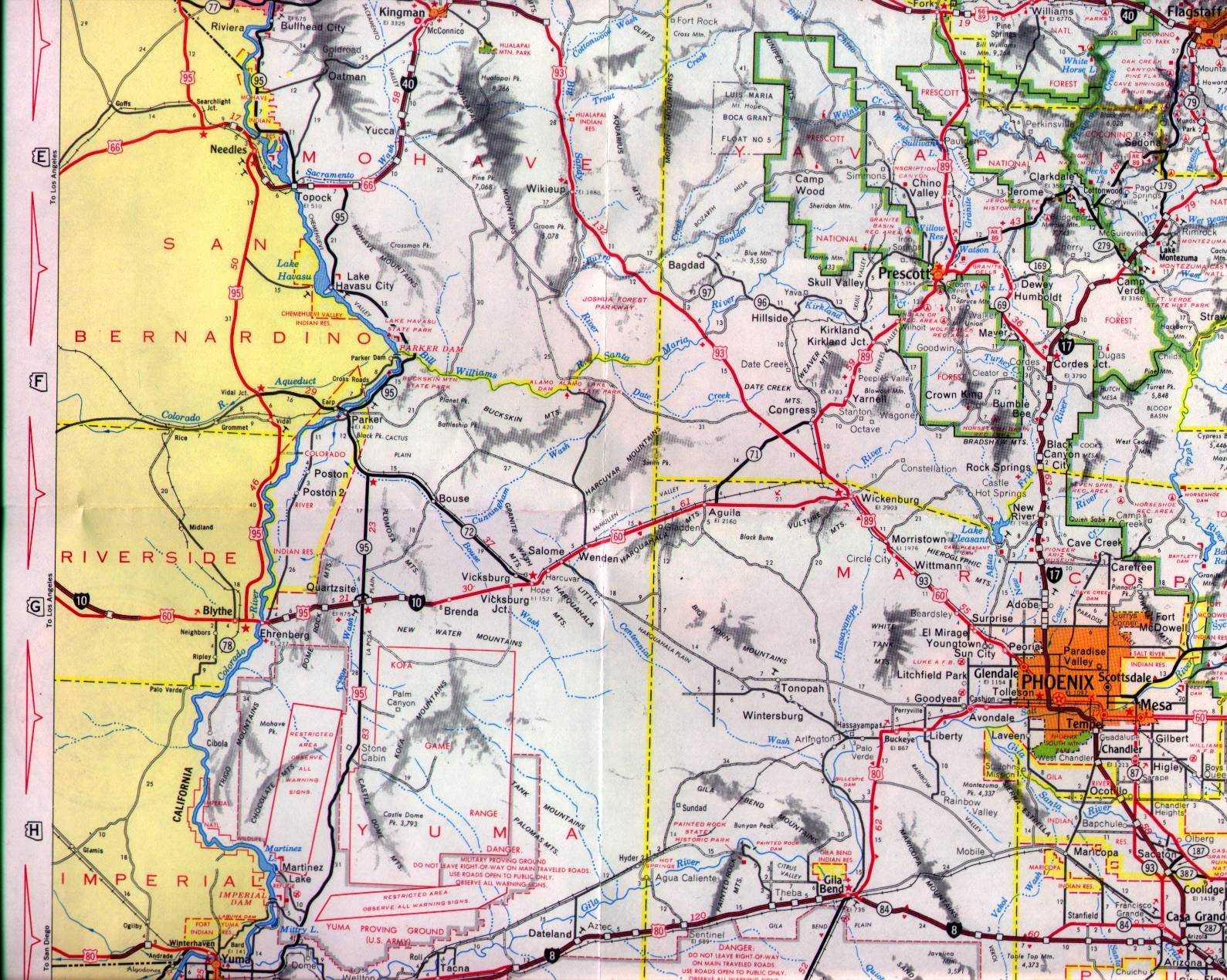 Arizona State Route 587  WOW