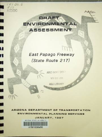 [AZ 217 Environmental Impact Statement]