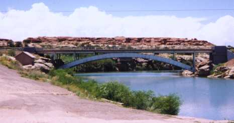 [Clear Creek arch bridge]