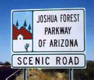 [Joshua Forest Parkway of Arizona]
